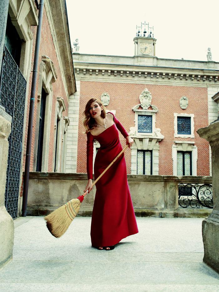 Бьянка Балти (Bianca Balti) в фотосессии Пьерпаоло Феррари (Pierpaolo Ferrari) для журнала Tatler Russia (сентябрь 2013), фото 4