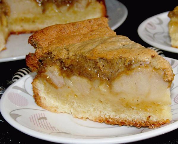 """Арабский пирог с яблоком и халвой """"Застенчивая Лейла"""""""