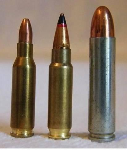 Современные патроны для пистолета и пистолета-пулемёта