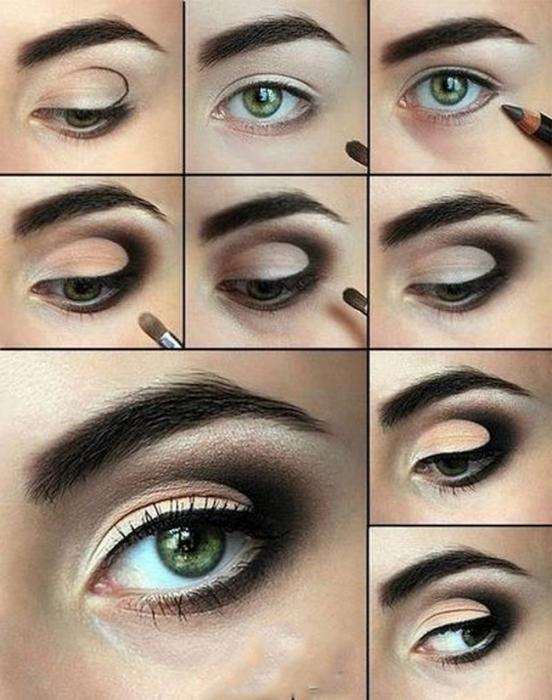 Макияж для всех цветов глаз с