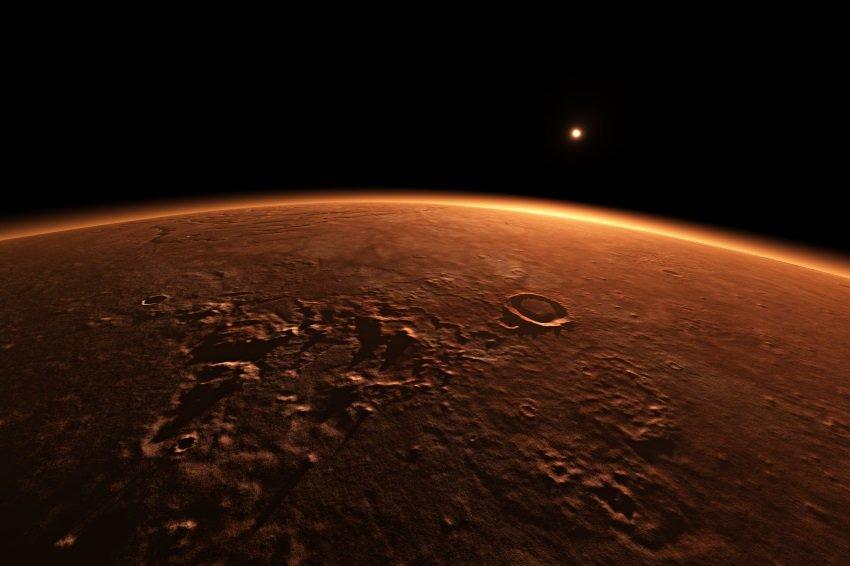 На Марсе впервые обнаружили воду