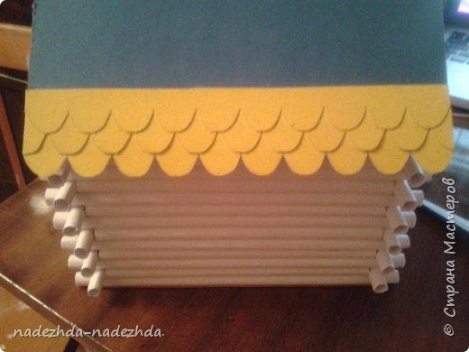 Как сделать из трубочек бумажных
