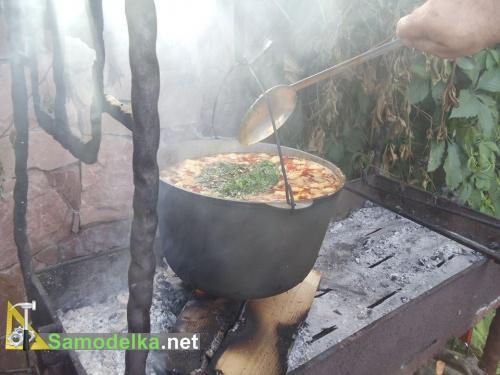 Бограч на костре рецепт с фото