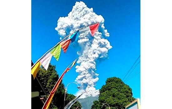 Внезапное извержение действу…