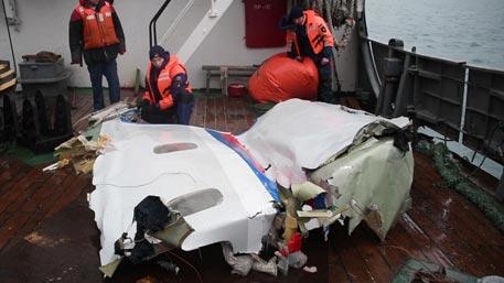 Минобороны назвало причину крушения Ту-154 над Черным морем