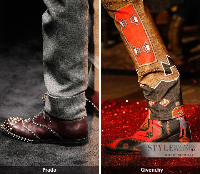 МОДНЫЕ СТРАСТИ. Женский ориентир: мужская обувь