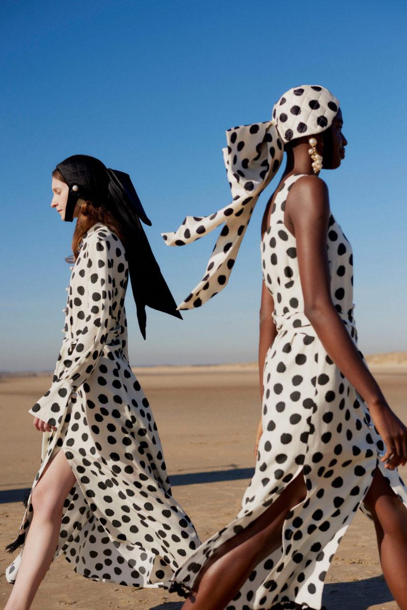 Модные платья в горошек: самые красивые модели, которые захочется надеть прямо сейчас