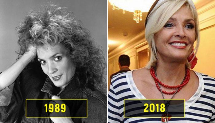 Советские певицы в начале своей карьеры и сейчас