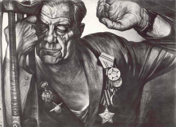 """""""Автографы войны"""": портреты забытых героев ВОВ, доживавших свой век на острове Валаам"""