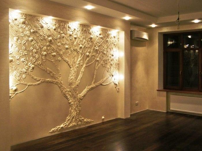 Художественная роспись стен Роскошь и уют
