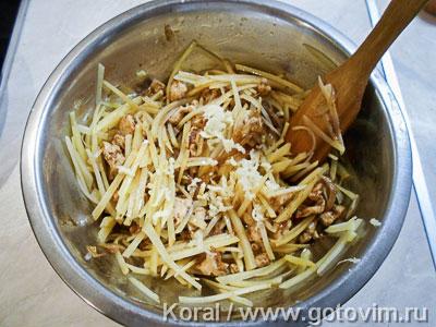 Салат из картошки по-корейски (Камдича), Шаг 06