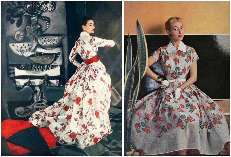 Ретро-вдохновение: любимые принты 50-х годов