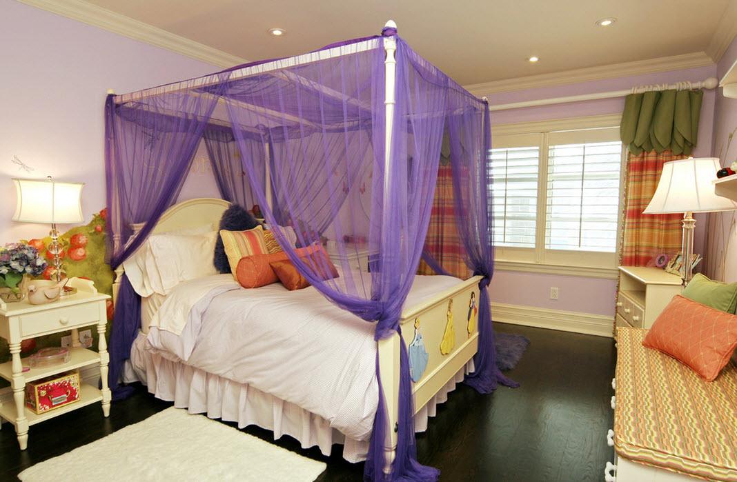Балдахин на кроватью фото