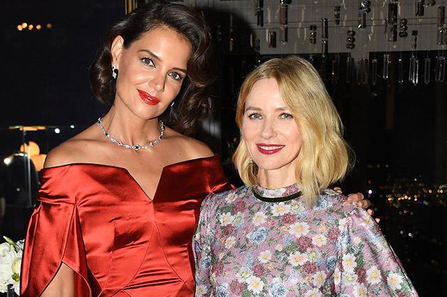 Кэти Холмс, Наоми Уоттс, Дженнифер Хадсон на торжественном вечере ювелирного бренда