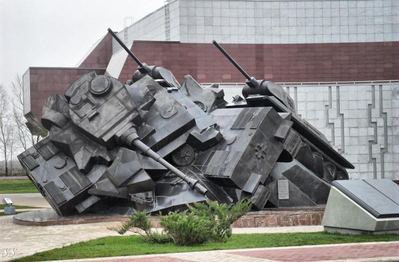 Самый безумный танковый бой в истории (20 фото)
