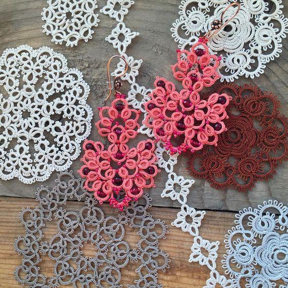 Фриволите для начинающих – основы техники плетения очаровательных кружев