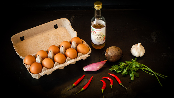 Маринованные яйца, красные Яйца, Маринад, Закуска к пиву, Рецепт, Видео рецепт, Еда, Видео, Длиннопост