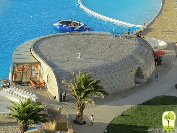 Самый большой бассейн в мире - Сан Альфонсо дель Мар, Чили - 11
