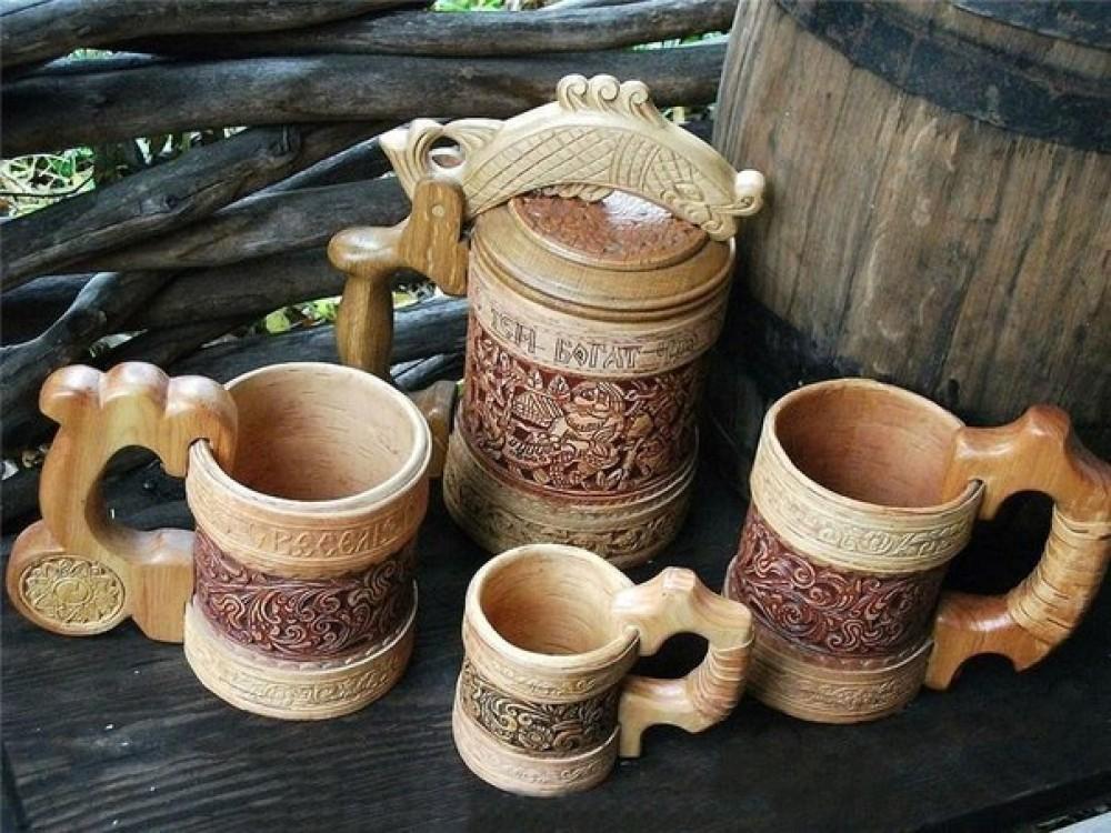 Возрождение старинных ремесел - изделия из бересты