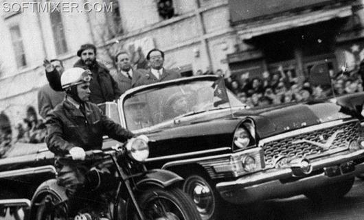 Фидель Кастро в Ленинраде. Кинохроника. 1963 год