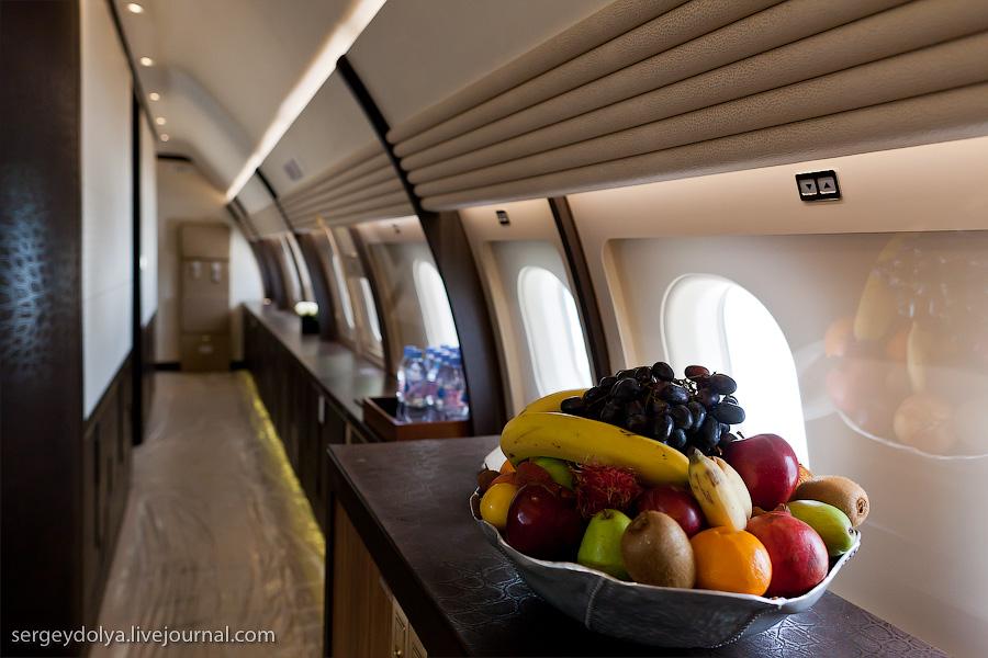 2346 Бахрейнский авиасалон: Интерьеры самолетов