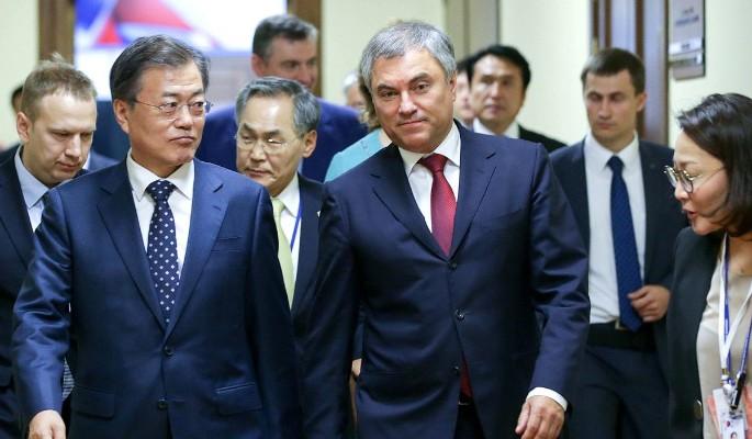 Президент Южной Кореи выступ…