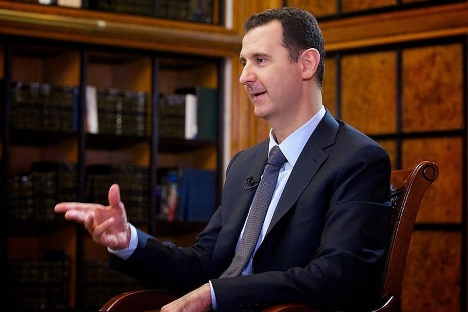 """Асад ответил Трампу, назвавшему его """"животным"""""""