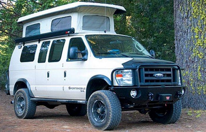 Sportsmobile Classic дом на колесах, кемпер