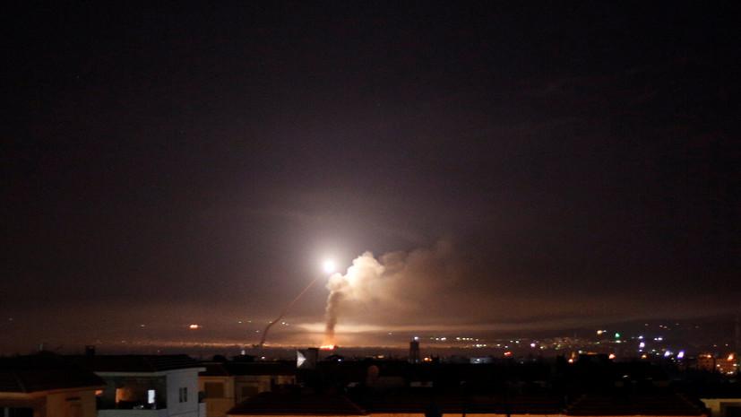 Минобороны РФ официально о ночной атаке Израилем Сирии
