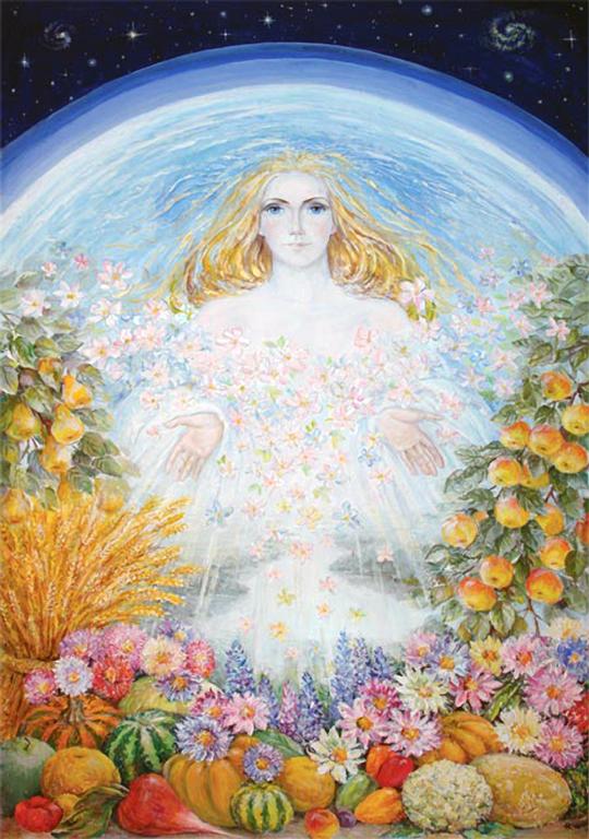 Праздник Земли. Красавица Мать сыра Земля.