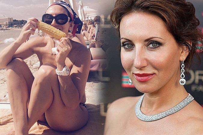 48-летняя Алика Смехова похвасталась аппетитными формами в бикини