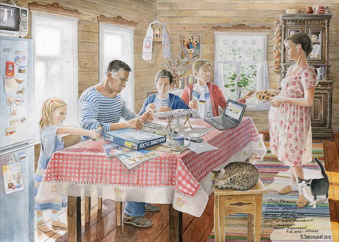 Добродетели и пороки в семье…