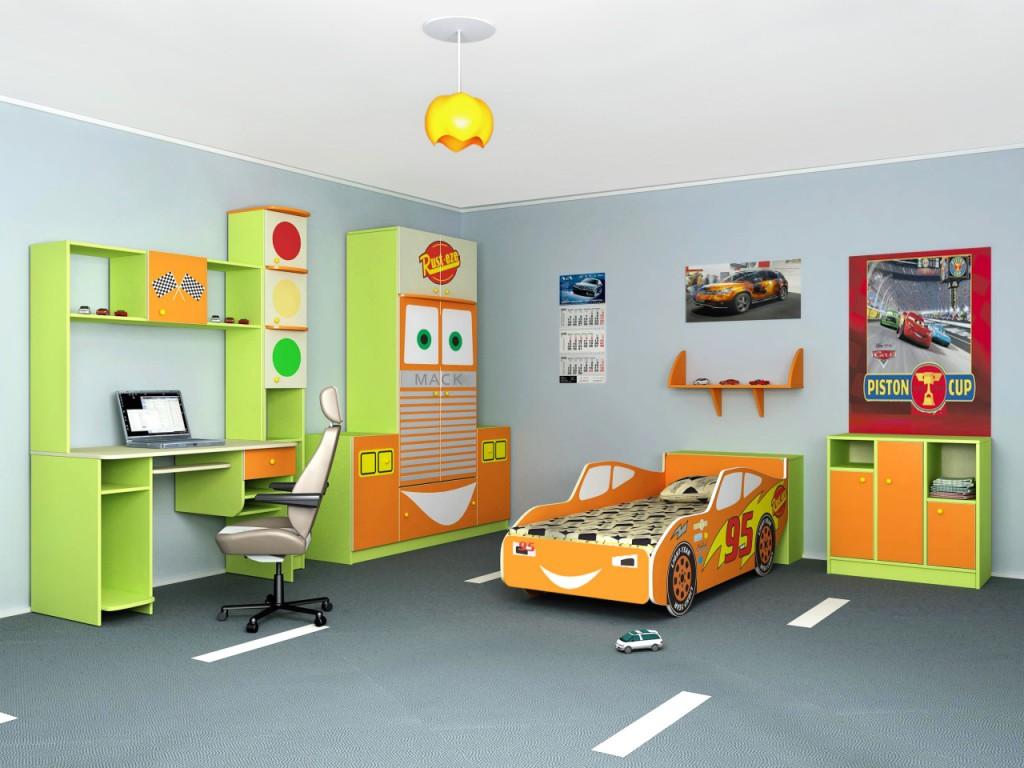 Мебель для детской комнаты для мальчика - мыслим нестандартн.