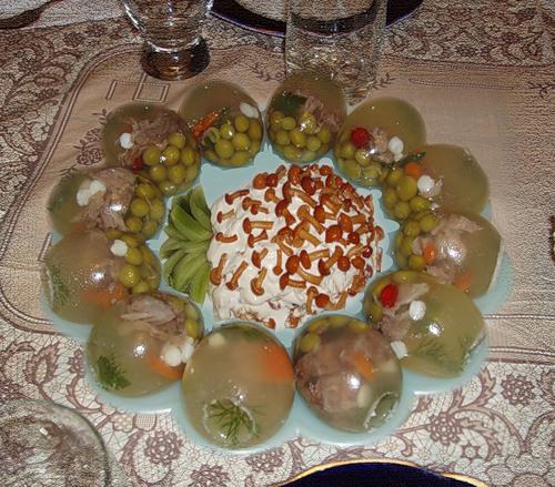 Холодец в яйце рецепт с фото
