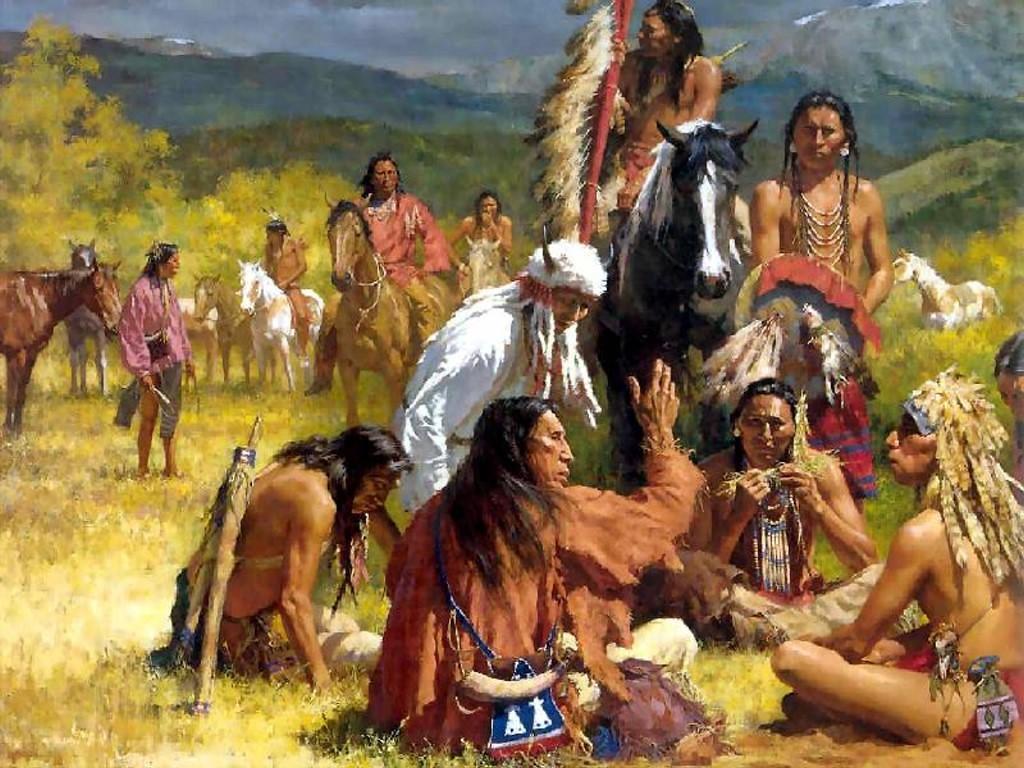 можете ознакомиться происхождение американских индейцев генное вас есть интересная