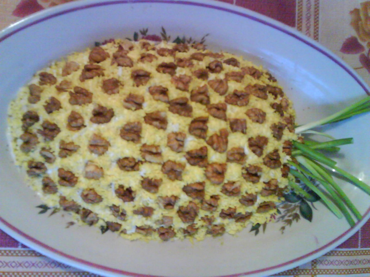 Салат ананас фото рецепт 9 фотография