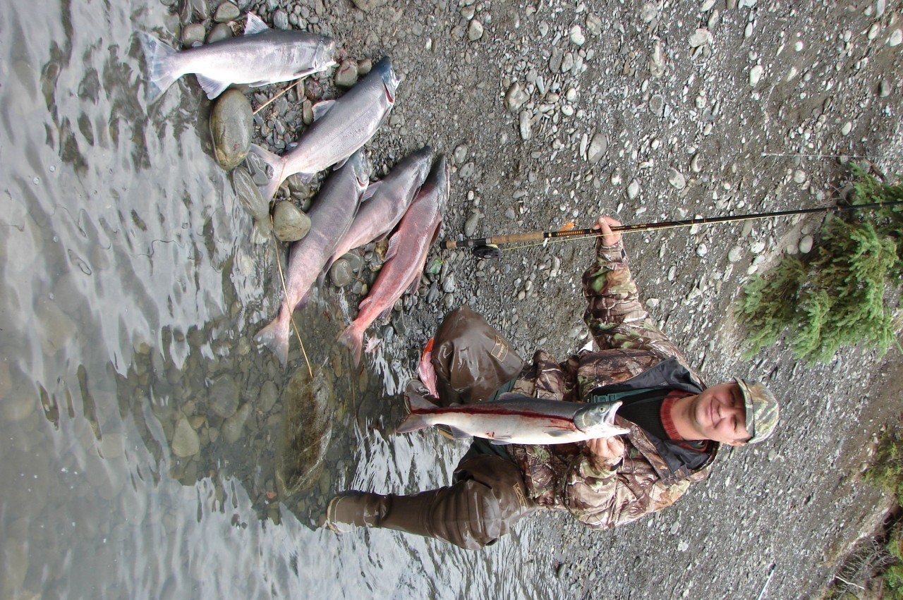 ловля лосося на аляске