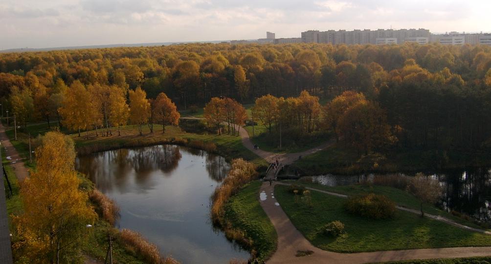 Фото места парк Александрино