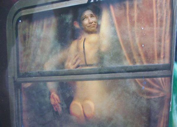 Эротический рассказ в метро