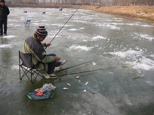 рыбалка на тушинской