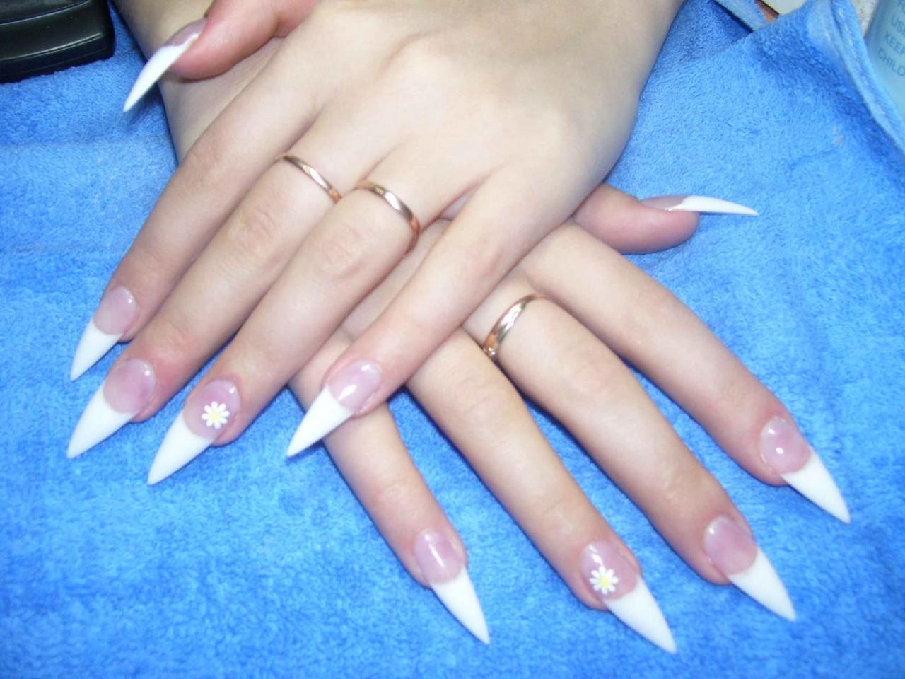 Форма ногтей нарощенных фото