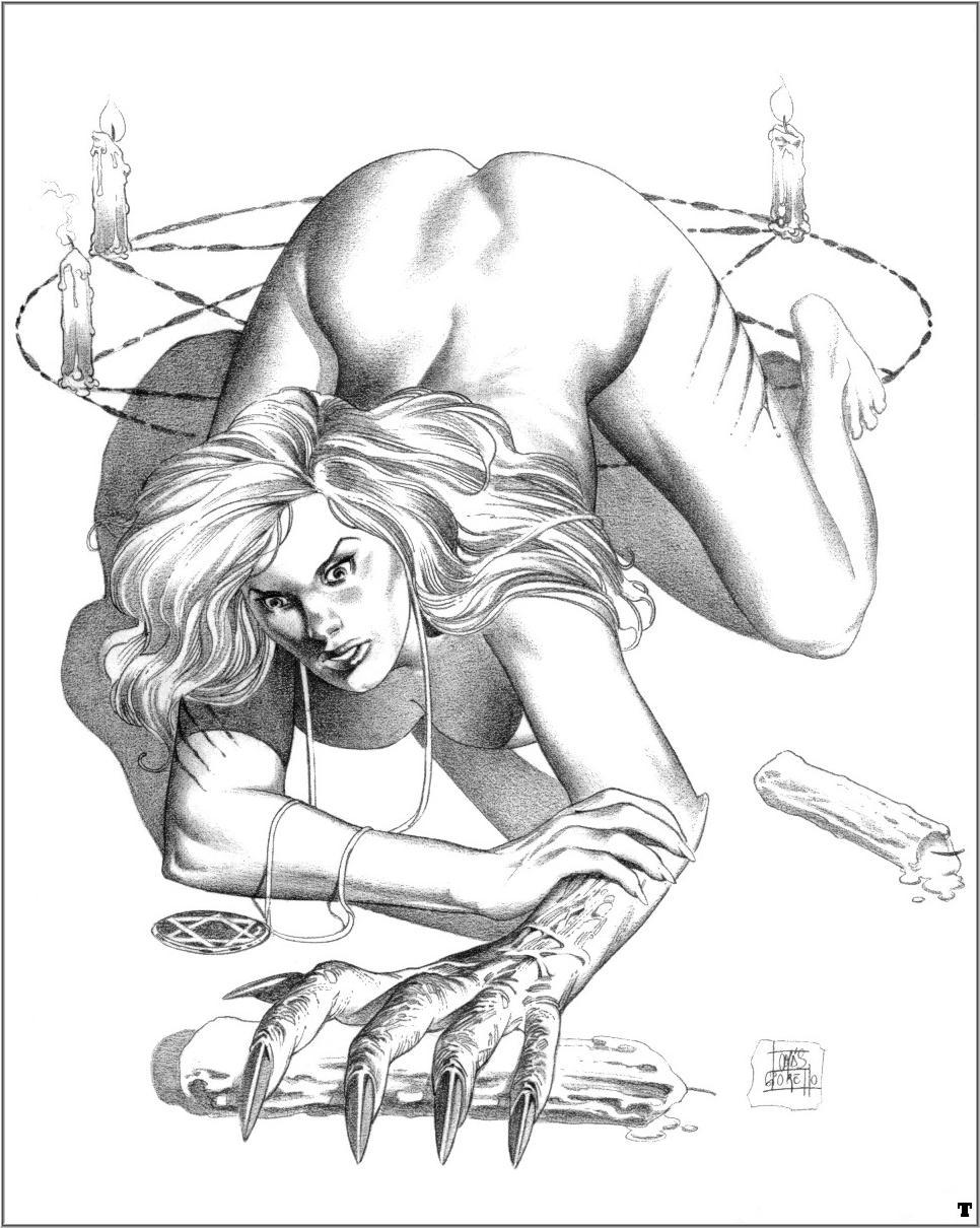 Fantasy free porn drawings hentai films