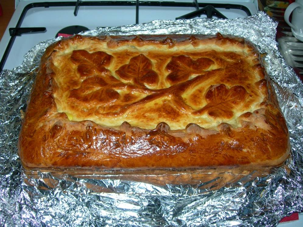 Домашние пироги и торты с