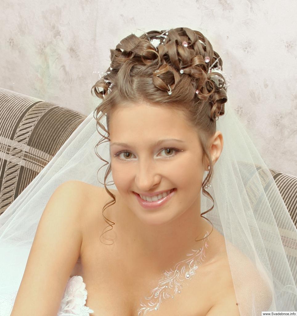 свадебные прически в лозовой
