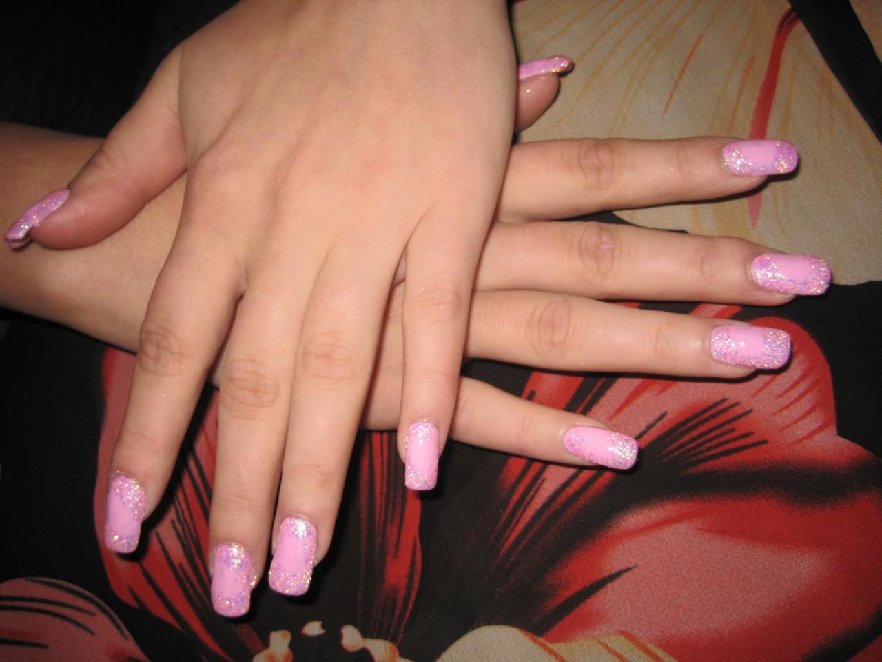 Нарощенные ногти и маникюр фото