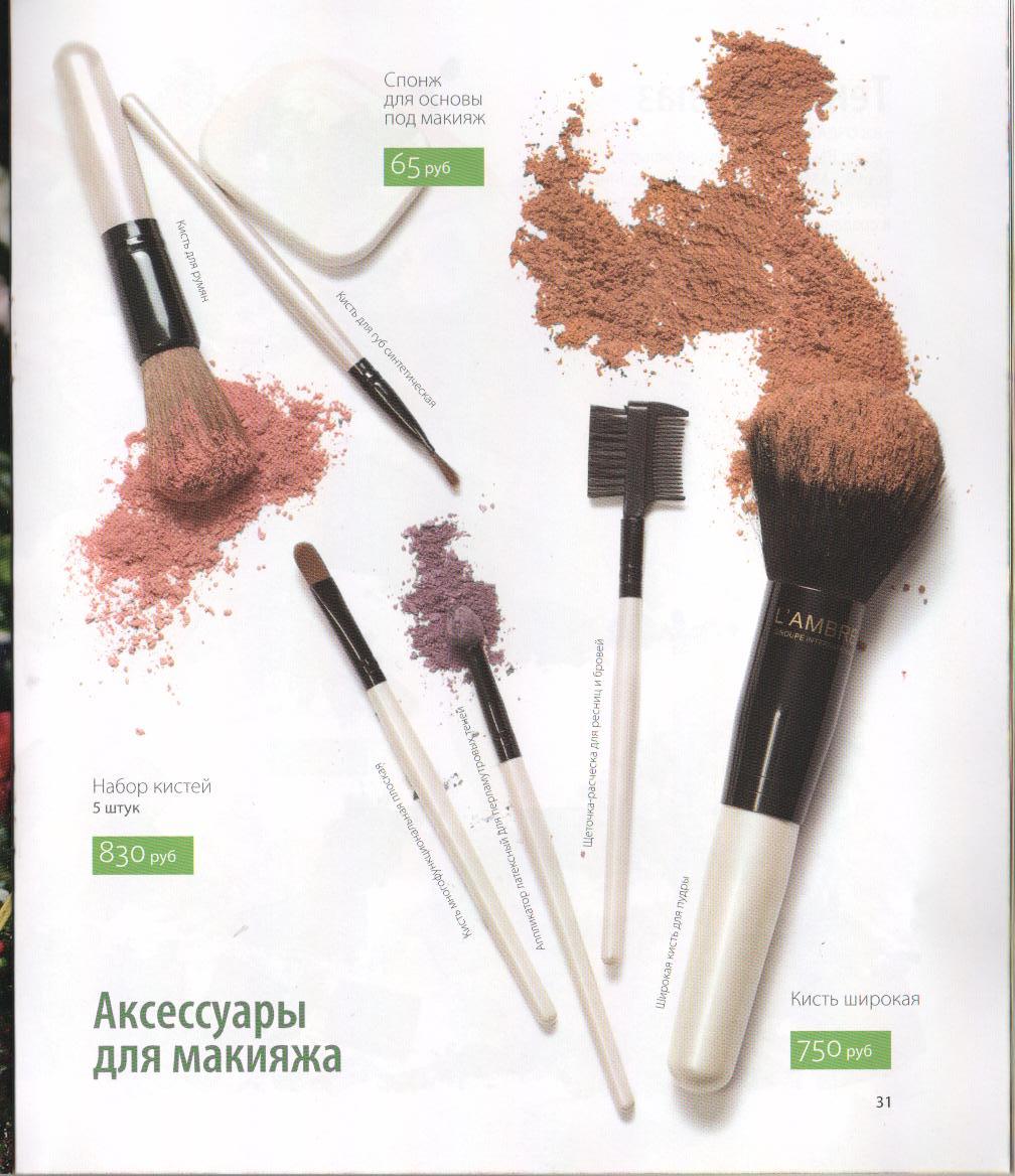 Предназначение кистей в макияже