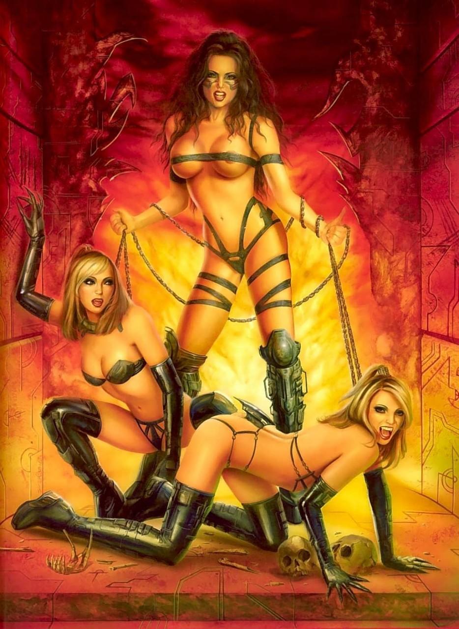 Vampiress erotica nude pussy