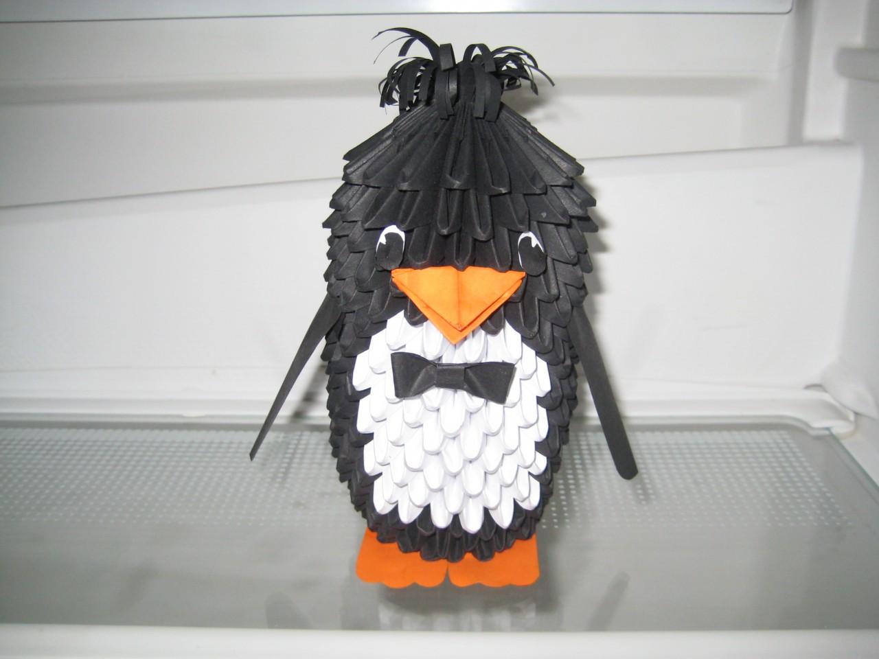 Пингвин из модулей схема