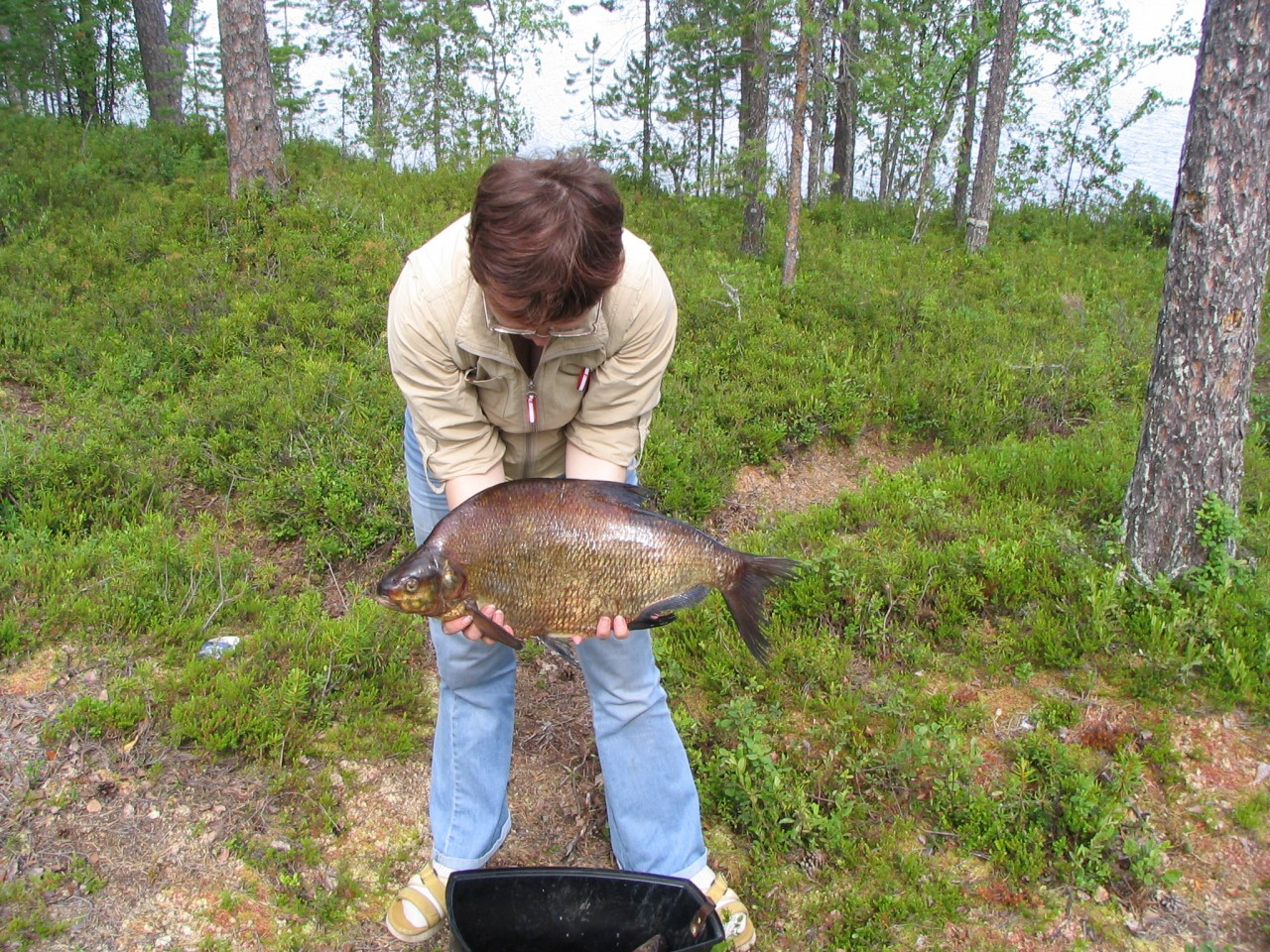 ловля рыбы в августе в карелии
