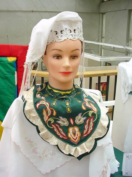 Как сделать национальный татарский головной убор своими руками